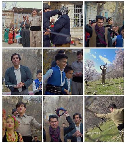 موزیک ویدیو جدید و شاد حسین و محمد مومیوند - دیوته هورامی