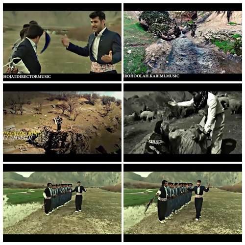 موزیک ویدیو روح الله کرمی - دت هرسینی